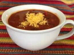 image of bowl of 4-Bean Vegetarian Chili