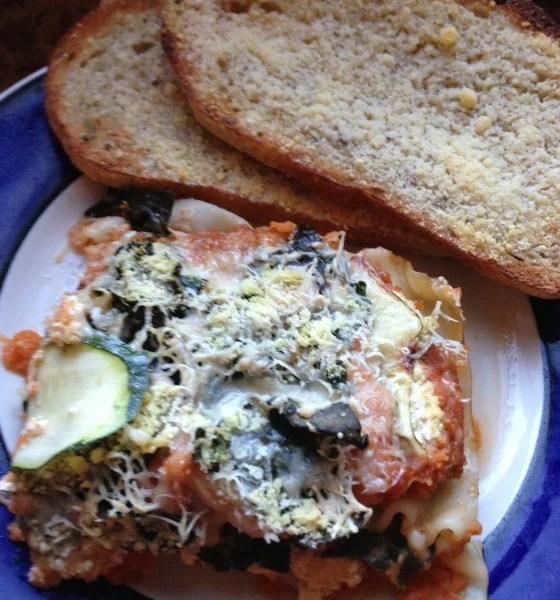 vegetarian lasagna (with vegan options) https://www.vegetarianzen.com