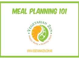 vegetarian zen meal planning 101