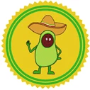 Awesome Avocado Patreon badge https://www.vegetarianzen.com