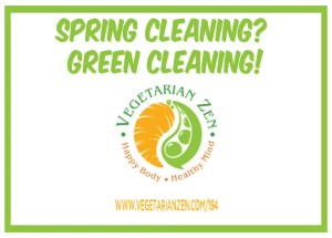 vegetarian zen podcast 194 - green cleaning