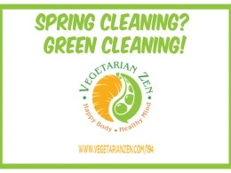 vegetarian zen podcast 194 - green cleaning