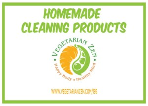 vegetarian zen podcast 195 - homemade cleaning products