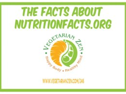 vegetarian zen podcast episode 246 - the facts about nutritionfacts.org
