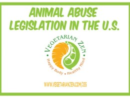 vegetarian zen podcast episode 255 - animal abuse legislation in the U.S.