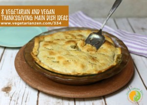 pot pie with a serving spoon