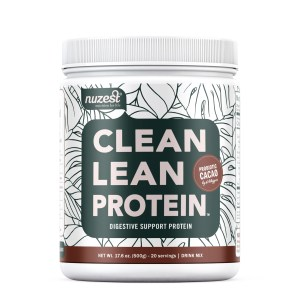 jar of nuzest clean lean protein