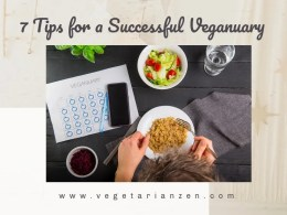 7 tips for a successful veganuary