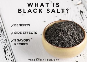 what is black salt vegetarian zen 379