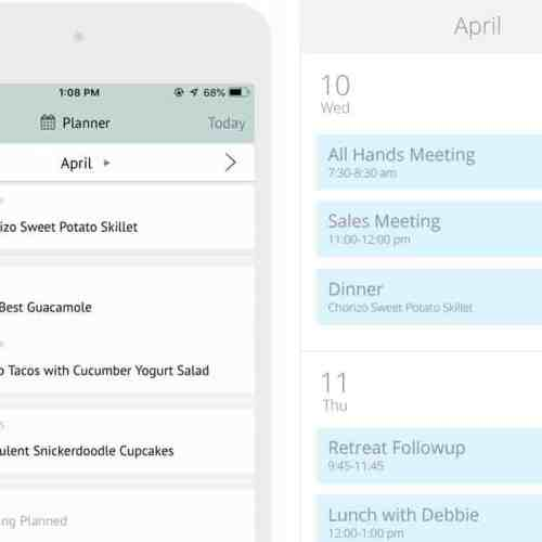 Plan to Eat: Meal Planning Calendar and Grocery List App