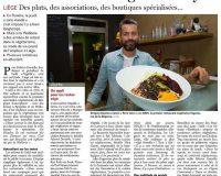 Article de la Meuse parlant de notre campagne Veggie Friendly