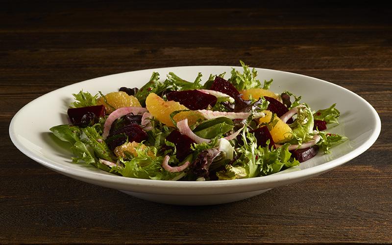 HRC Vegetarian LTO Fennel Beet Orange salad