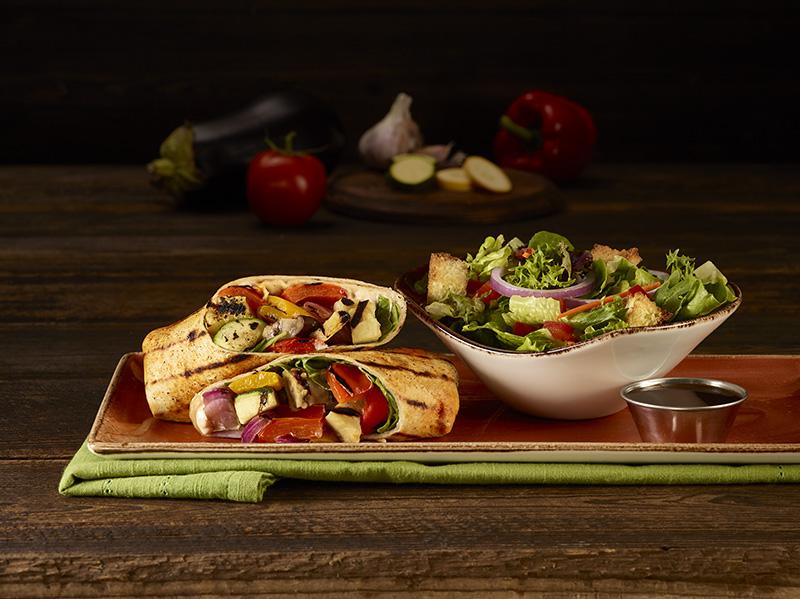HRC Vegetarian LTO Ratatouille Wrap