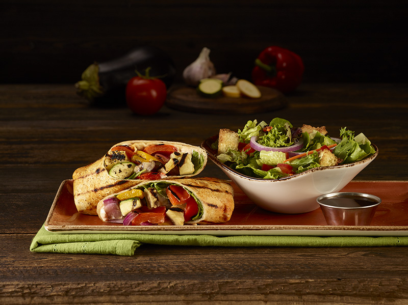 HRC Vegetarian LTO Ratatouille Wrap