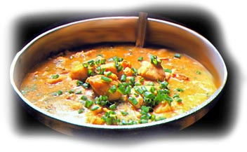 Guiso de soja y arroz