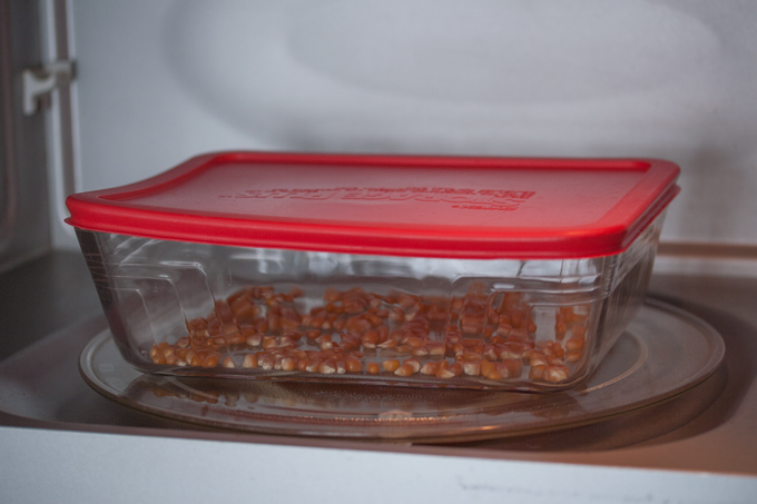 ridiculously easy diy microwave popcorn
