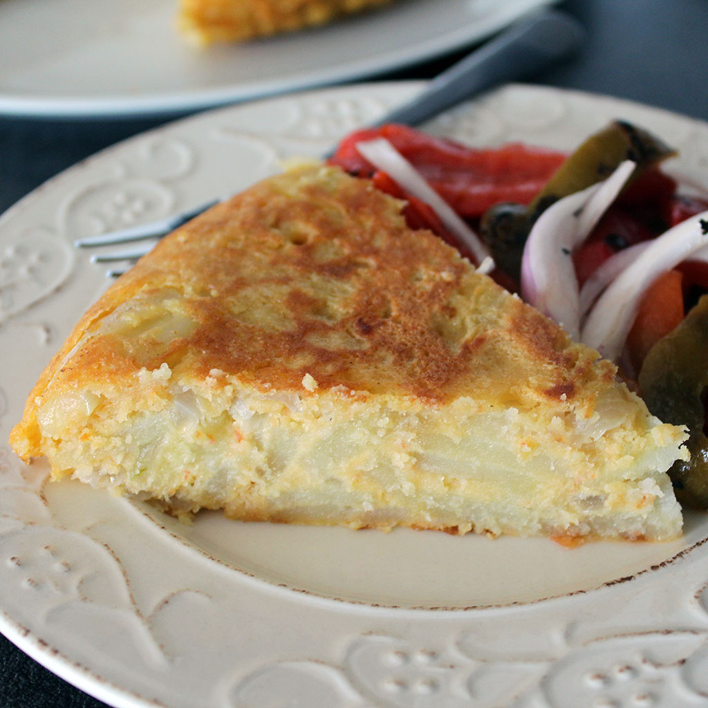 Egg Free Amp Vegan Spanish Omelette Recipe