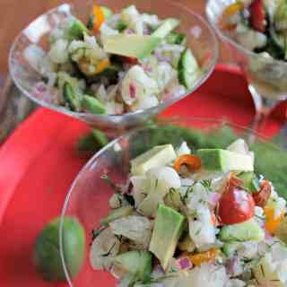 Dilled Vegan Ceviche – Virtual Vegan Potluck