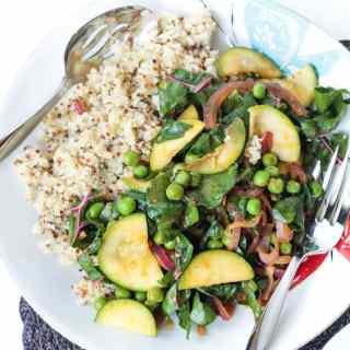 Quinoa with Garden Vegetables