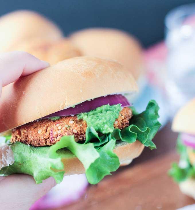 Tofu Hemp Burger