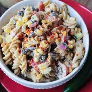 Southwest Black Bean Pasta Salad
