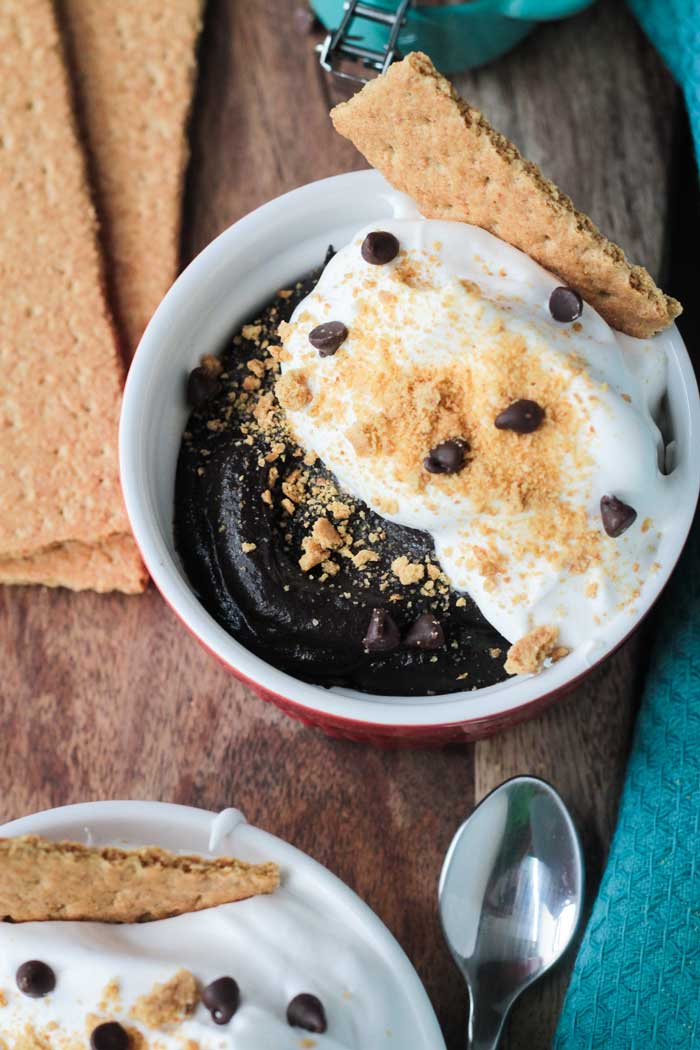 S'mores Pudding Bowl from Jackie Sobon's Vegan Bowl Attack