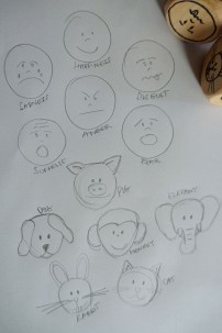 Primary emotions and animals