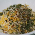 Cheese and dried herbs mix