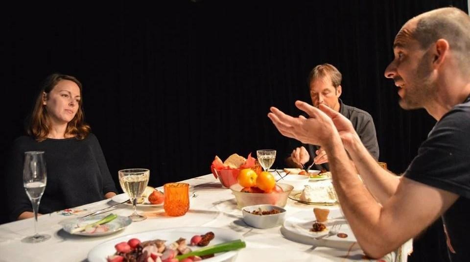 vegan private dinner in bucharest