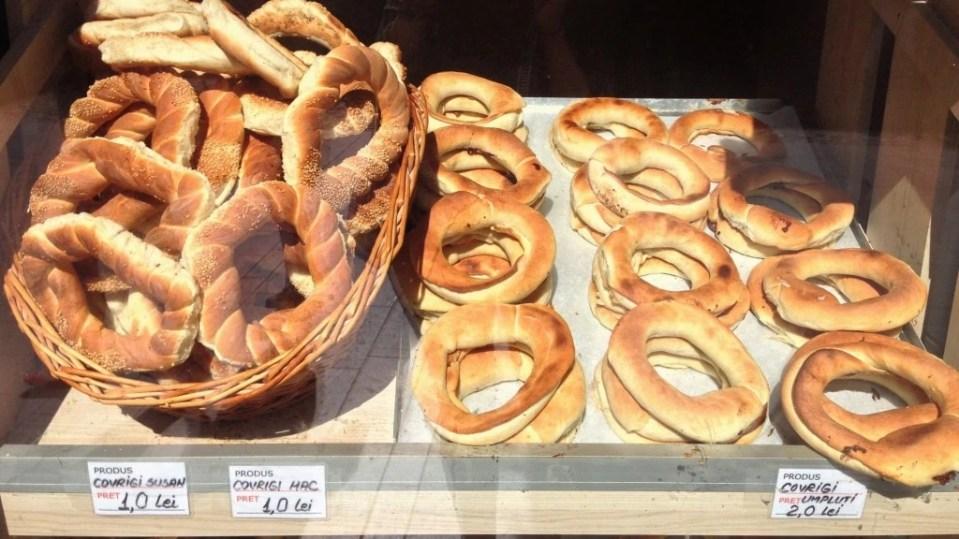 Covrigi - Romanian Bread