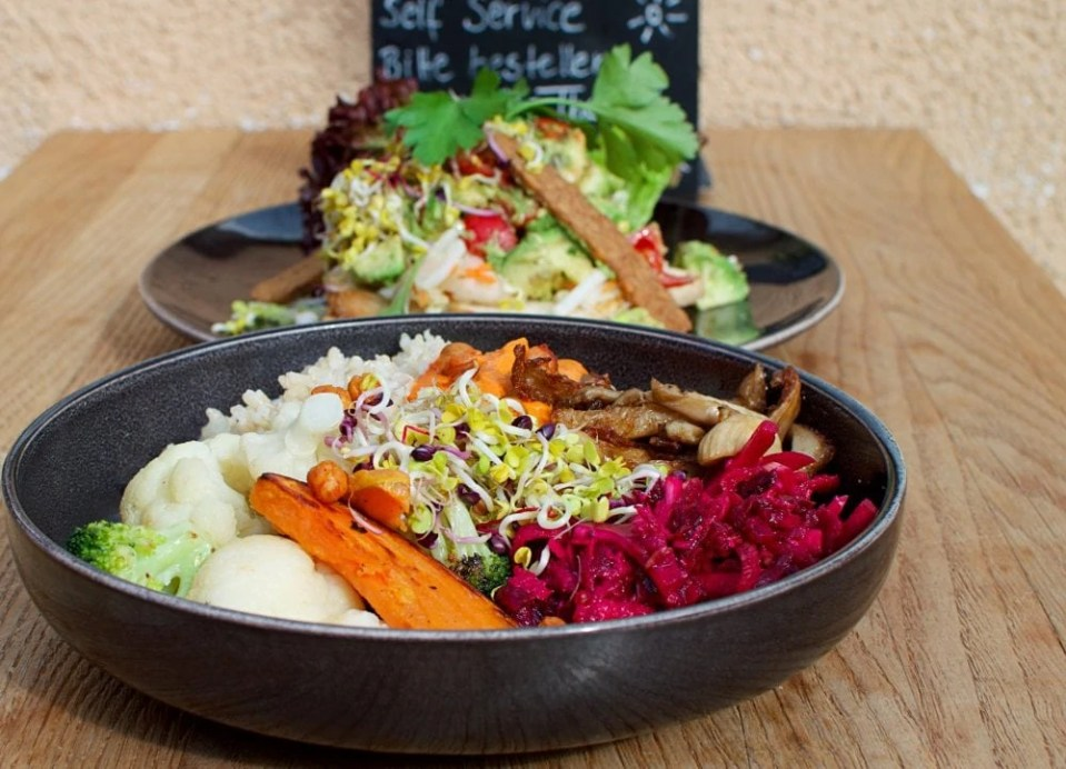 best vegan food in Munich