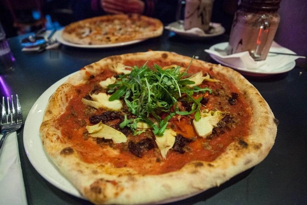 Vegan Pizza from Pizza Freaks in Glasgow