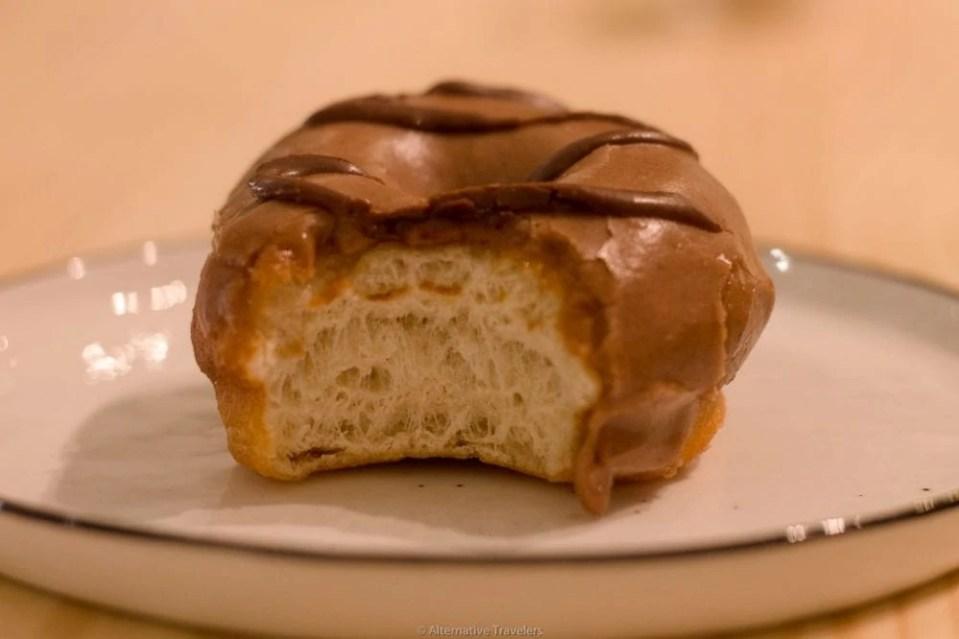 Delish - best vegan donut in madrid