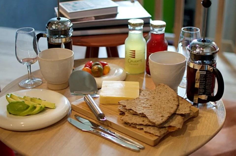 Swedish vegan breakfast from malmo saluhall
