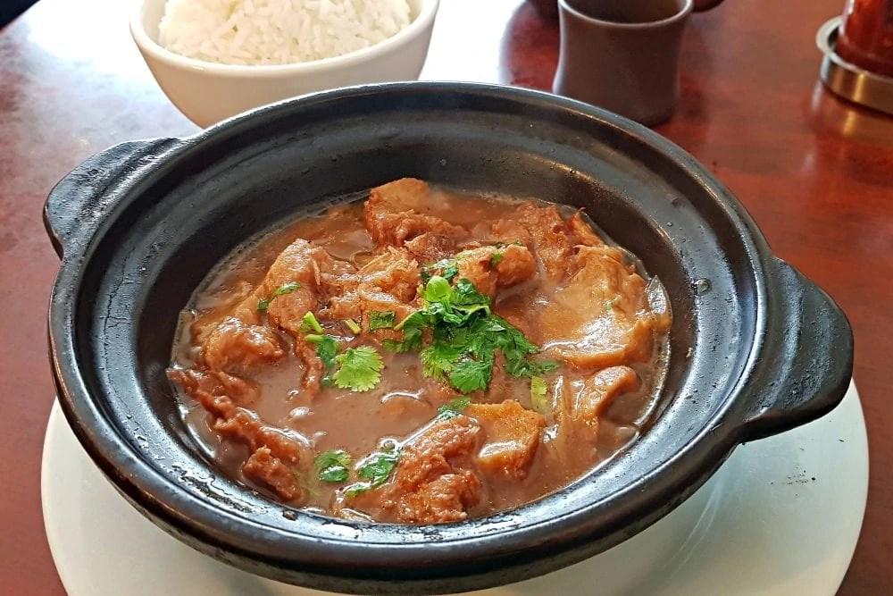 Bohdi Vegan Paris - Vegan Chicken Hotpot
