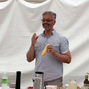 Joe Yonan Teaching Us How To Cook Fusilli With Corn Sauce in 15 Minutes