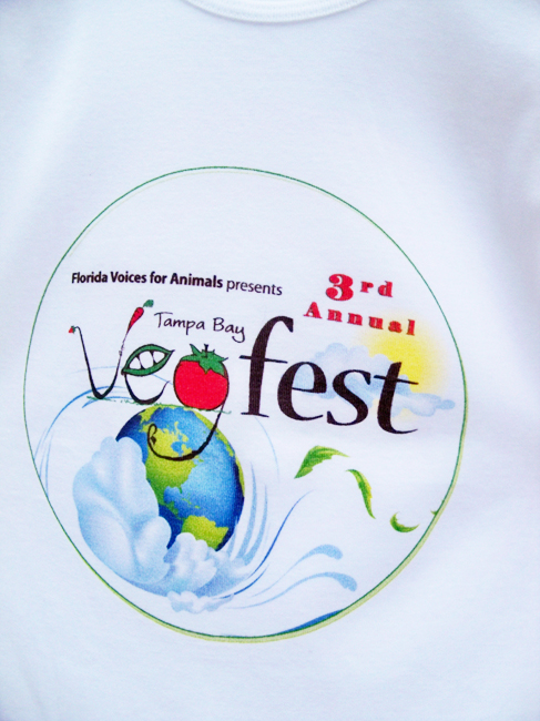 Tampa Bay's 4th Annual VegFest, 2013, Beats the Heat and Packs In the Crowds!