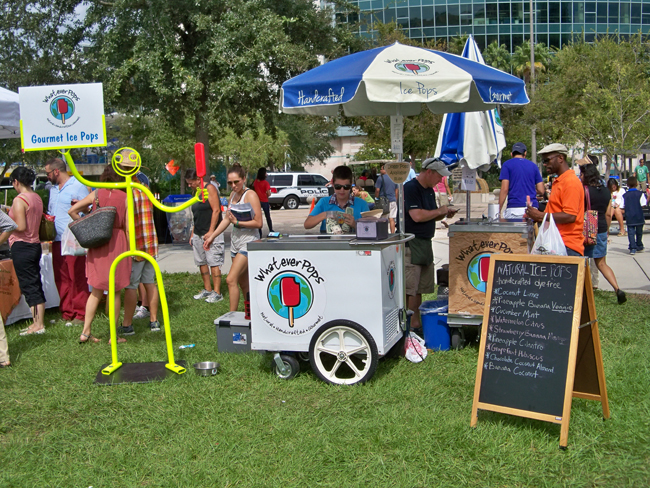 Tampa Bay VegFest Beating the Heat!