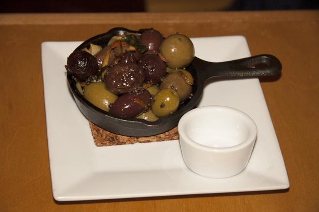 Iron Skillet Olives