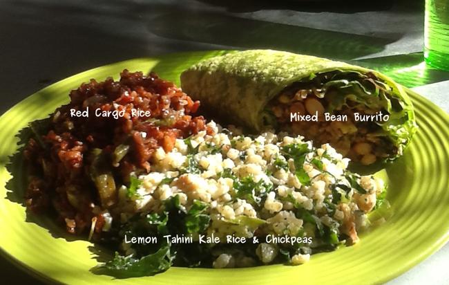 Desert Roots Kitchen-Mixed Bean Burrito