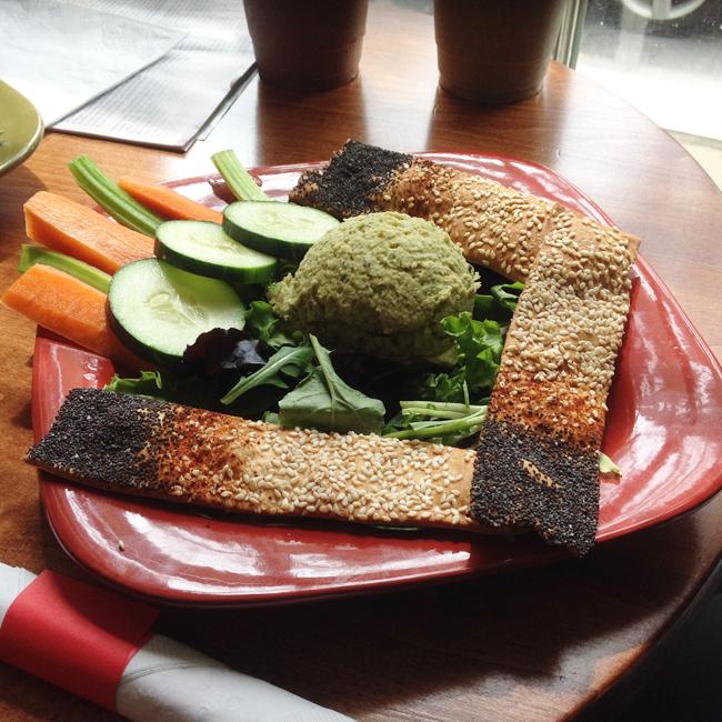 Gaia Hummus Plate