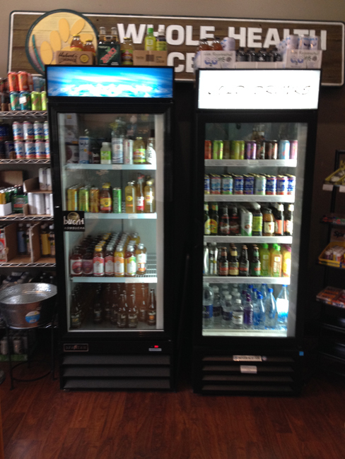 Whole Health Natural Foods: Soda Cooler