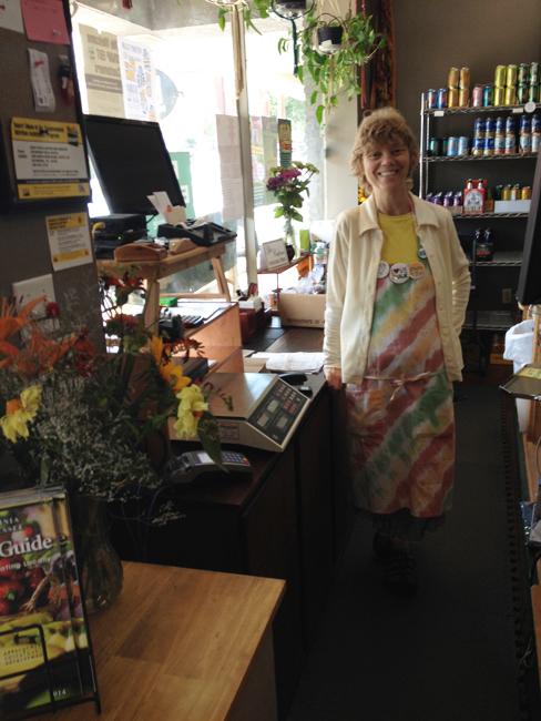 Cindy at register