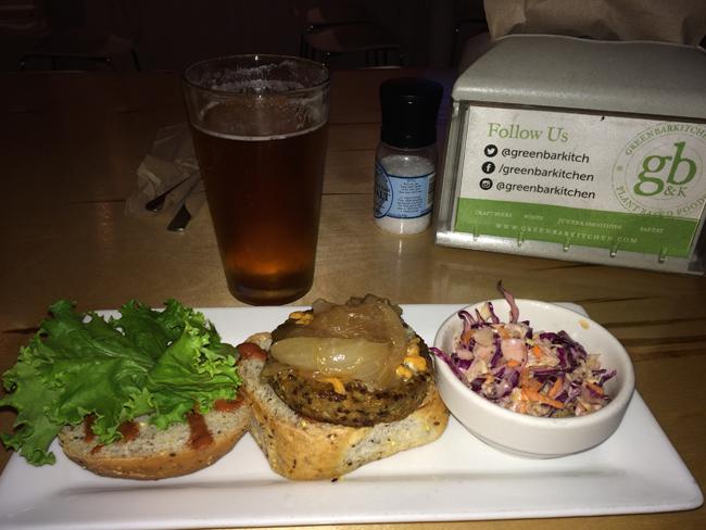GB&K Deluxe Burger 1
