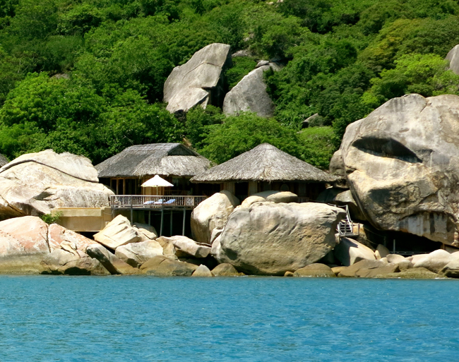 Our beautiful Rock Villa.