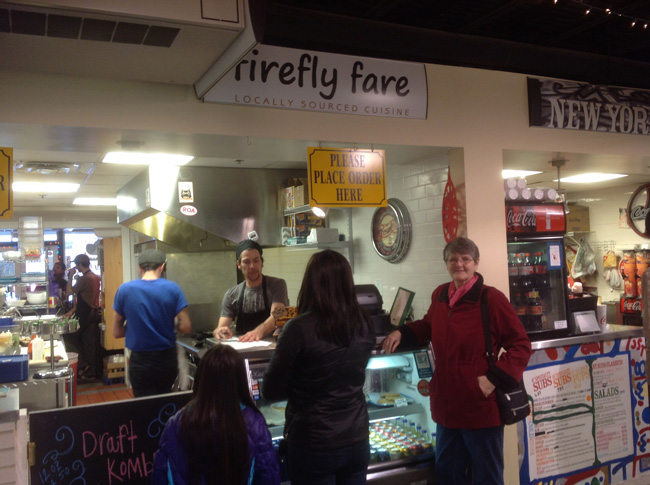 Firefly Fare, inside the Market Square
