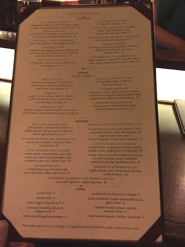 Clearly Defined Menu
