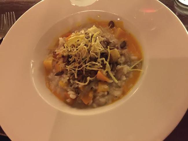 Mushroom-Squash Risotto