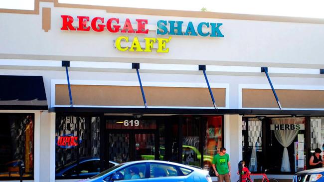 Reggae Shack Cafe Storefront