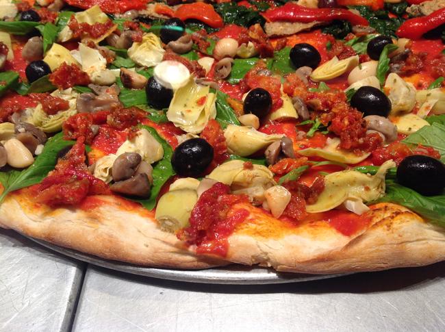 Christian's Artichoke Pizza